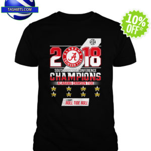 2018 Southeastern Conference Champions Alabama Crimson Tide shirt