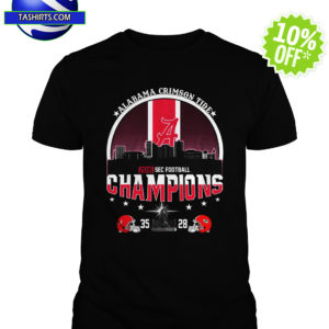 Alabama Crimson Tide 2018 SEC Football Champions shirt