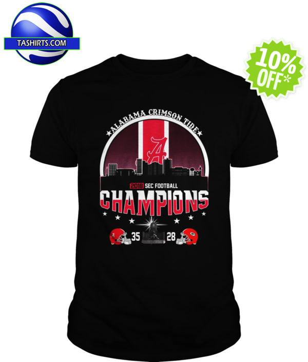 Alabama Crimson Tide 2018 SEC Football Champions shirt