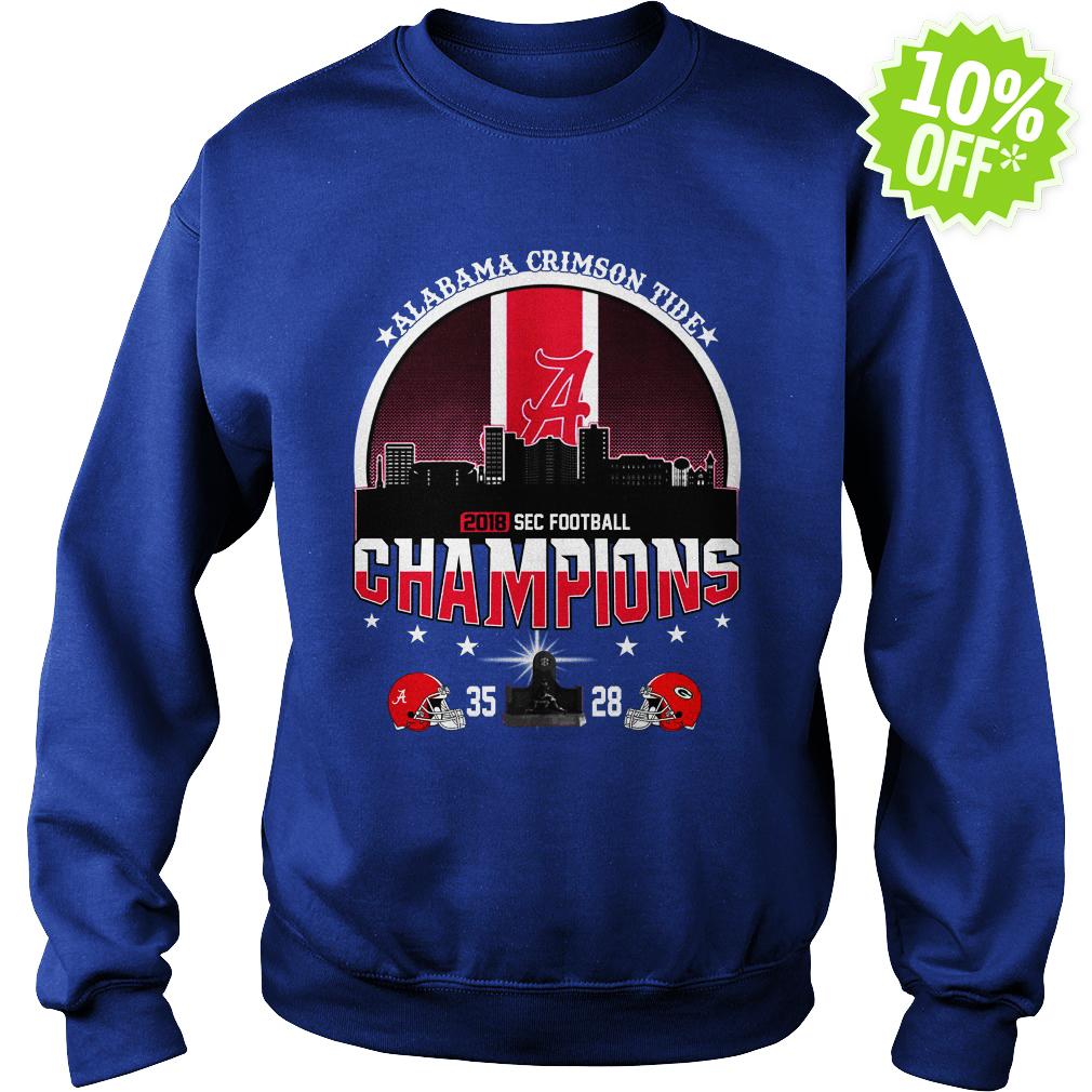 Alabama Crimson Tide 2018 SEC Football Champions sweatshirt