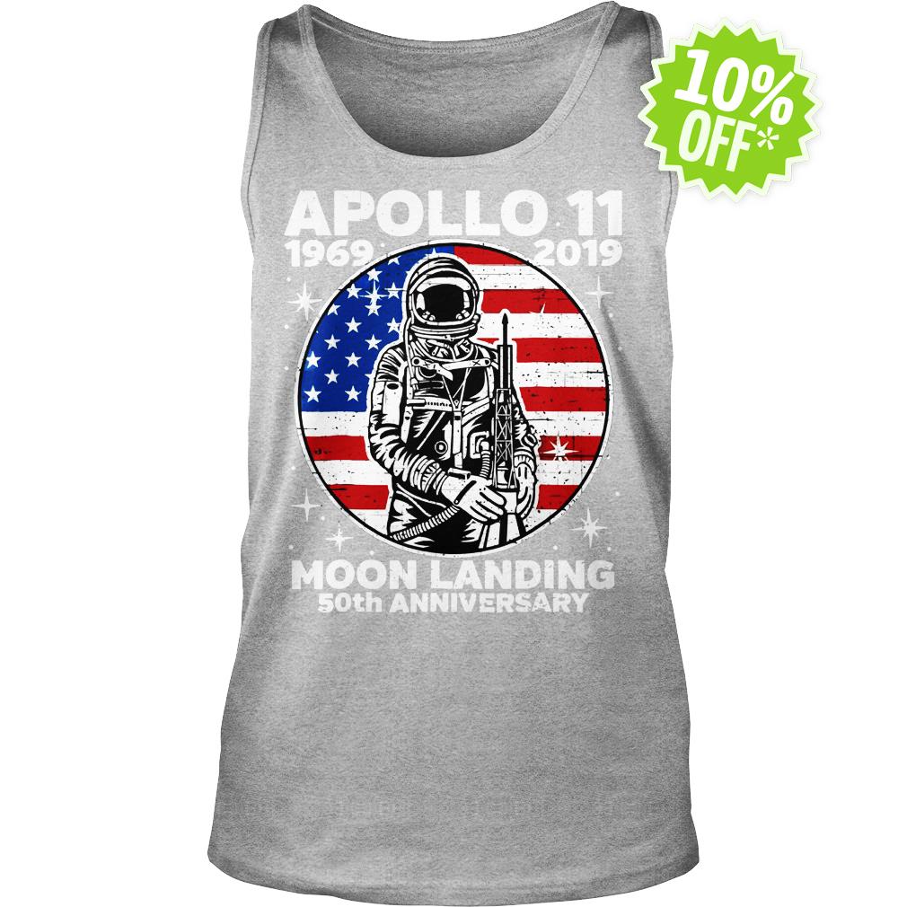 Apollo 11 Moon Landing 50th Anniversary NASA tank top