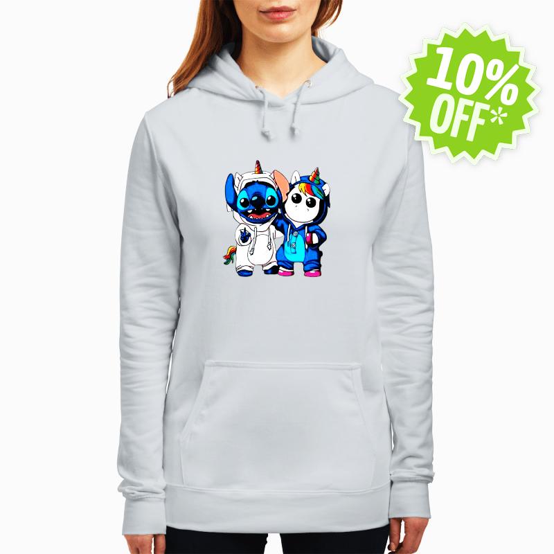 Baby Stitch and Unicorn hoodie