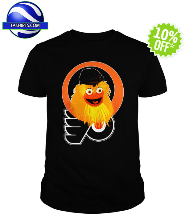 Gritty Philadelphia Flyers logo shirt