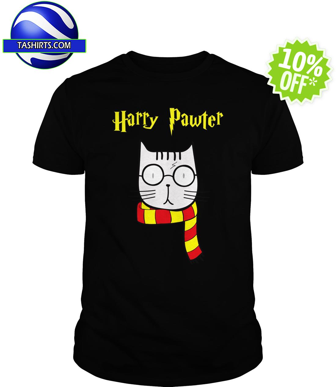 Harry Pawter Cat Harry Potter shirt