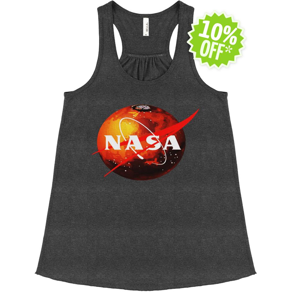 NASA Mars Logo flowy tank