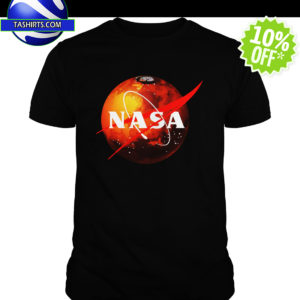NASA Mars Logo shirt