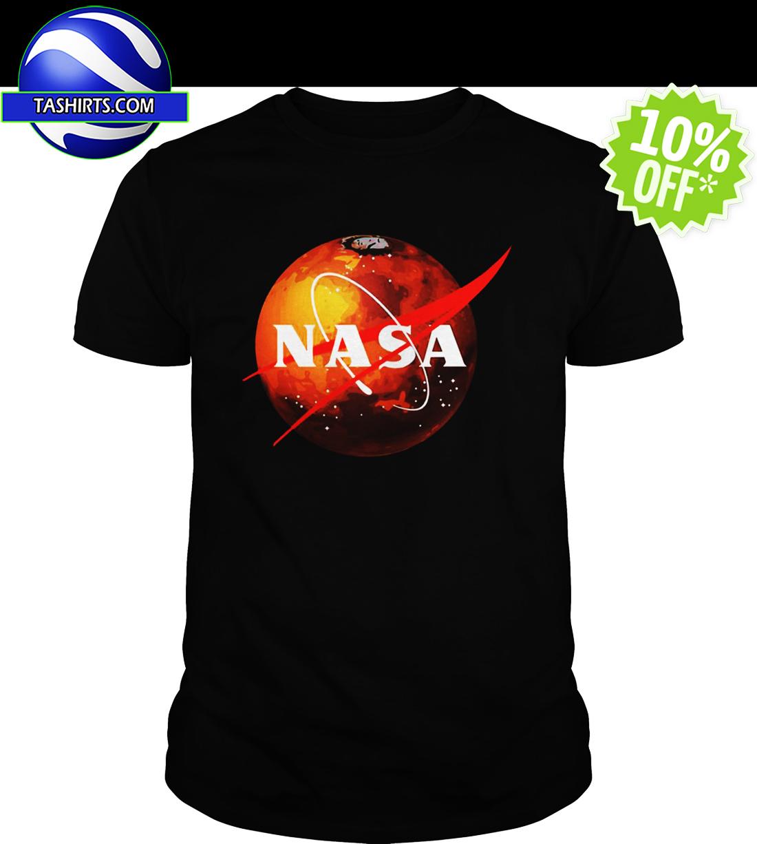 NASA Mars Logo shirt
