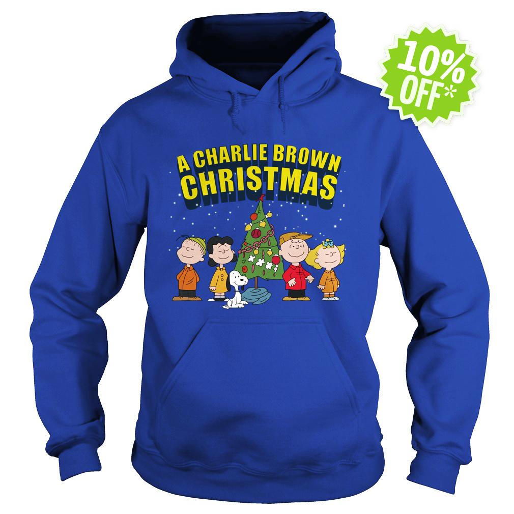 Peanuts A Charlie Brown Christmas hoodie