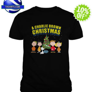 Peanuts A Charlie Brown Christmas shirt