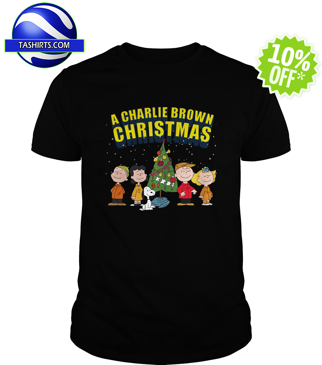 Peanuts A Charlie Brown Christmas shirt