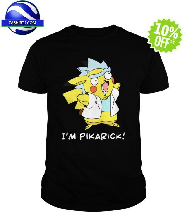 Rick Pikachu mashup - I'm Pikarick shirt