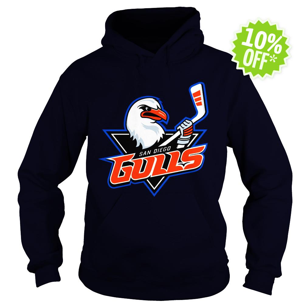 San Diego Gulls Logo hoodie