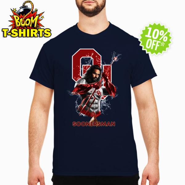 Soonersman Oklahoma Sooners Aquaman shirt