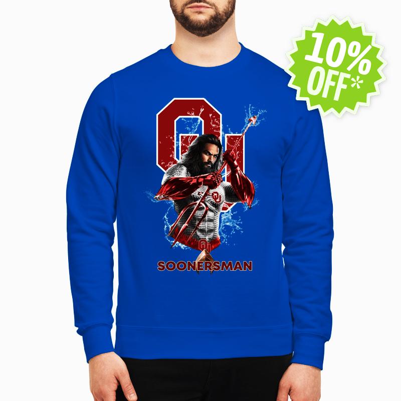 Soonersman Oklahoma Sooners Aquaman sweatshirt