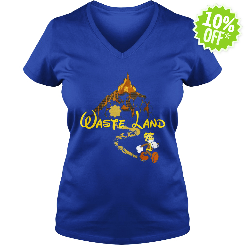 The Happiest Place Left On Earth - Waste Land v-neck