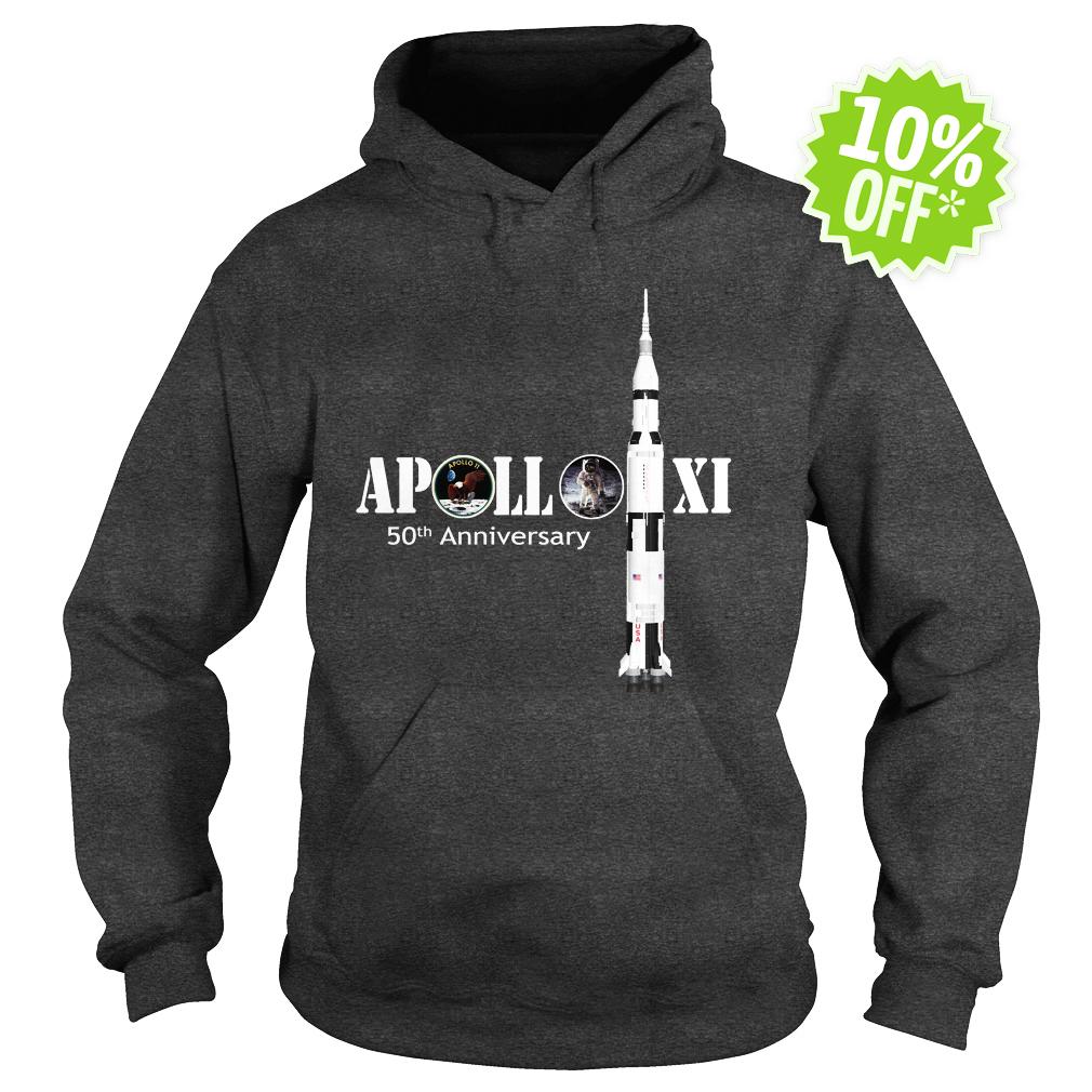 Apollo 50th Anniversary Moon NASA hoodie
