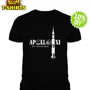 Apollo 50th Anniversary Moon NASA shirt