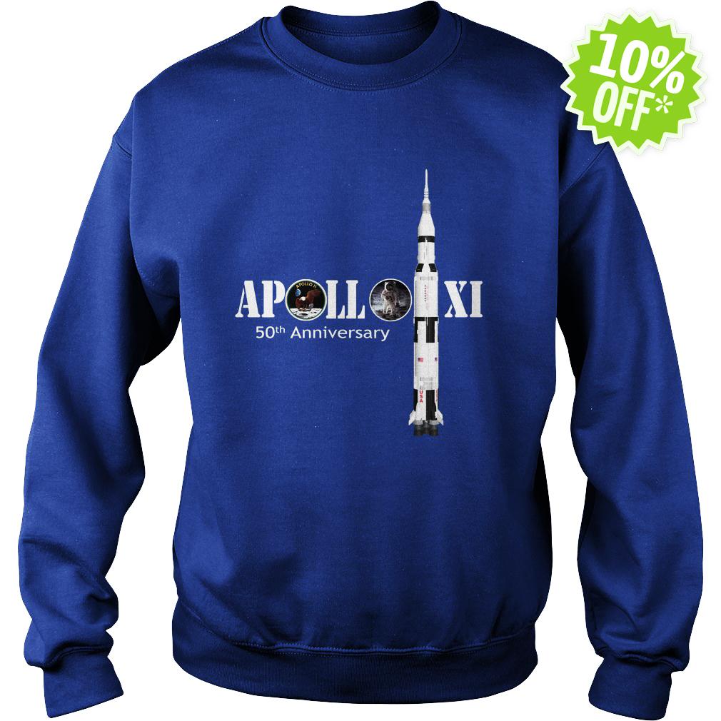 Apollo 50th Anniversary Moon NASA sweatshirt