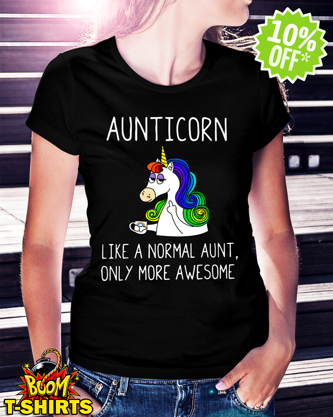 49fdb2c7b BEST PRICE) Aunticorn like a normal aunt only more awesome shirt ...