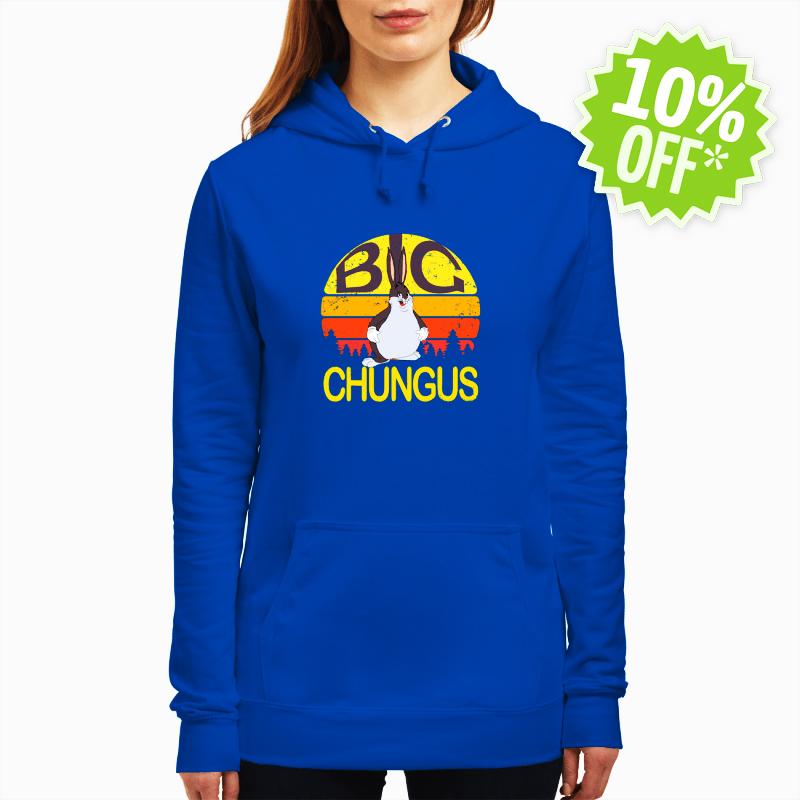 Big Chungus Retro Vintage hoodie