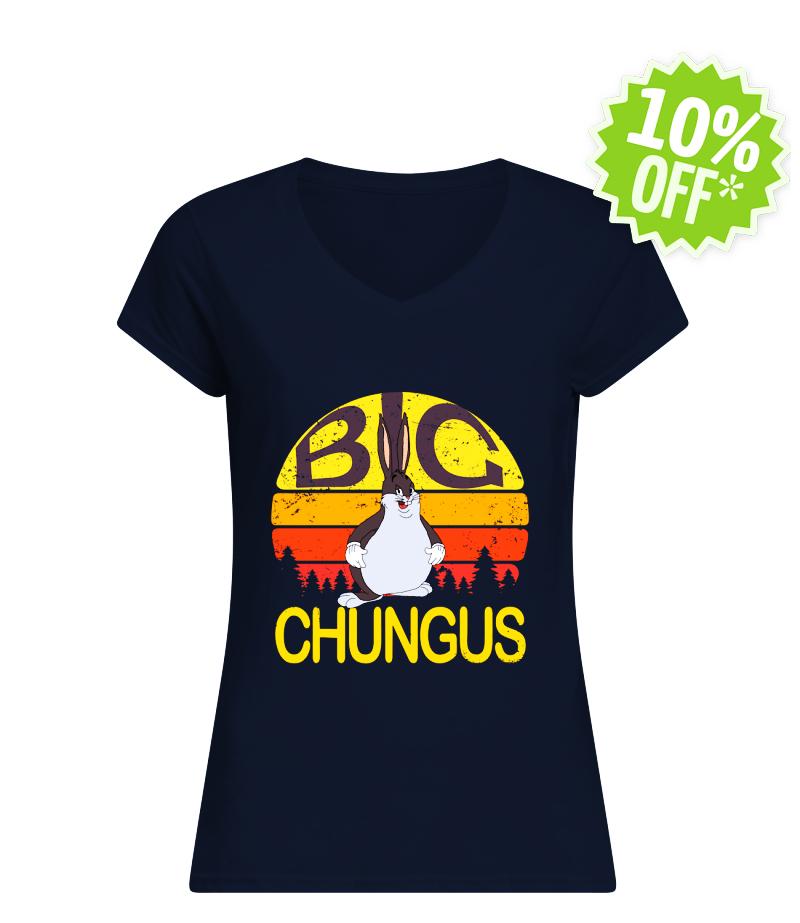 Big Chungus Retro Vintage v-neck