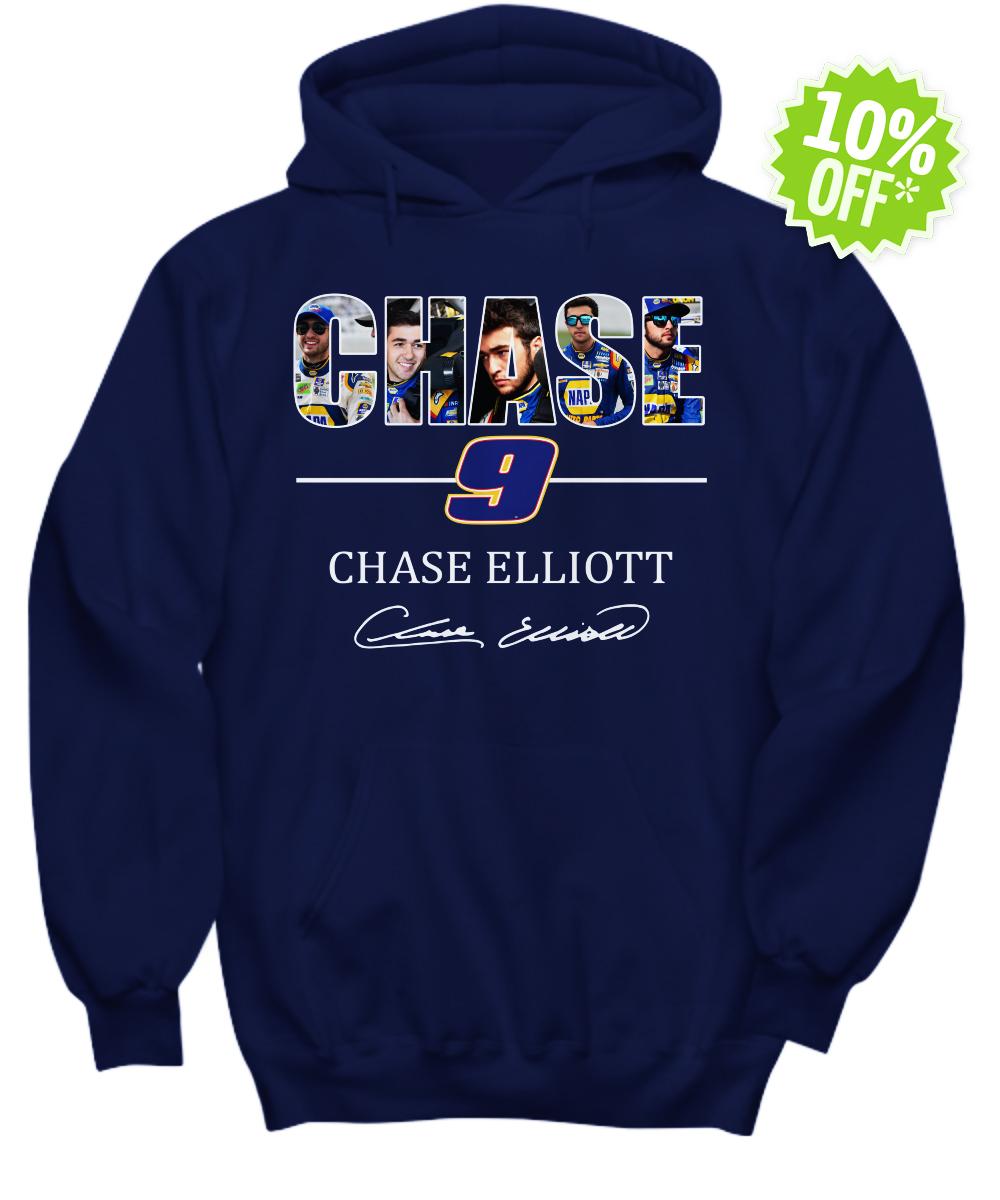 Chase Elliott 9 Signature hoodie