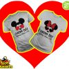 Custom text Disney World 2019 Mickey Minnie Couple shirt