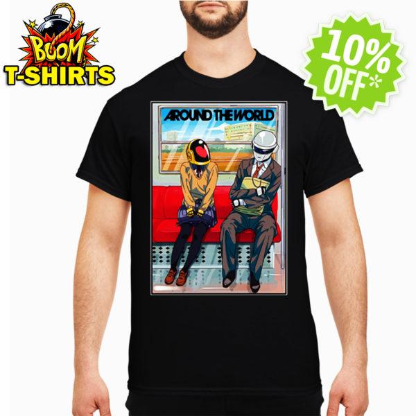 Daft Punk Around the world shirt
