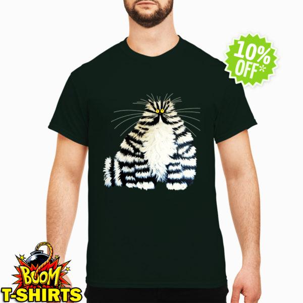 Diamond painting crazy cats shirt