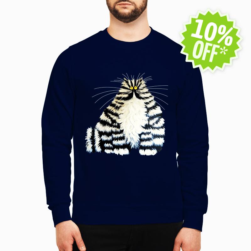 Diamond painting crazy cats sweatshirt