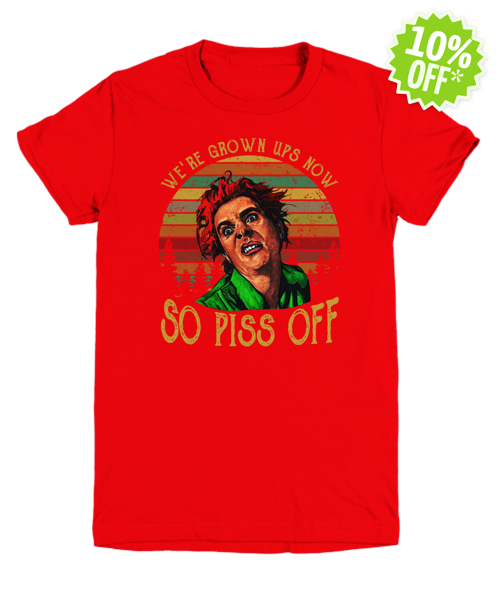 Drop Dead Fred we're grown ups now so piss off vintage youth tee