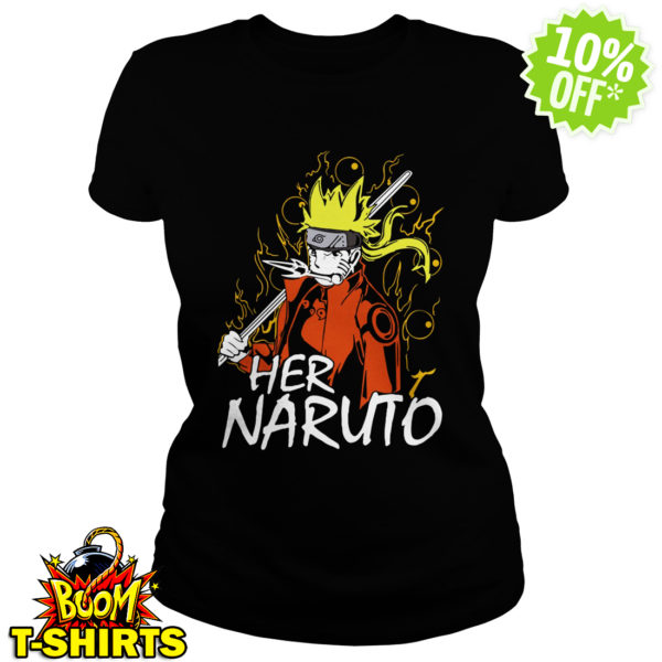 Her Naruto shirt