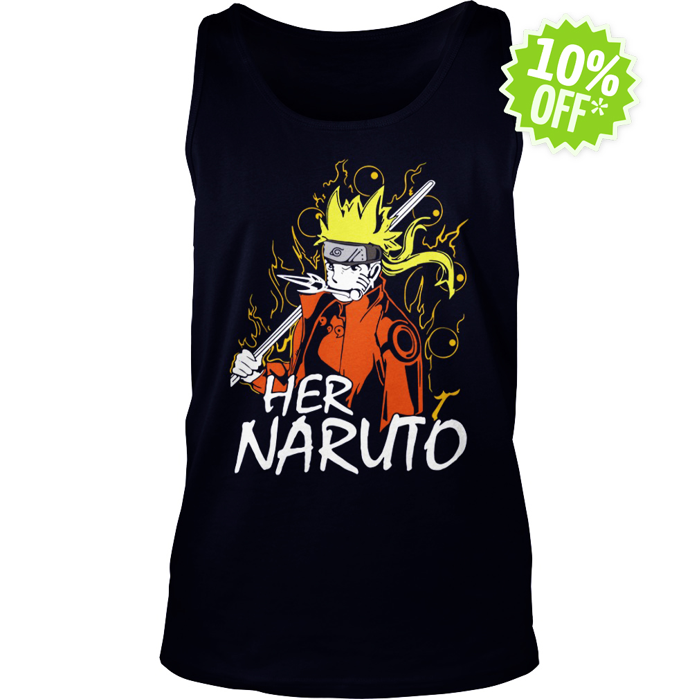 Her Naruto tank top