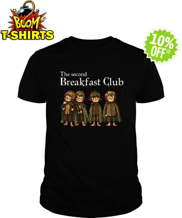 Hobbit The Second Breakfast Club shirt