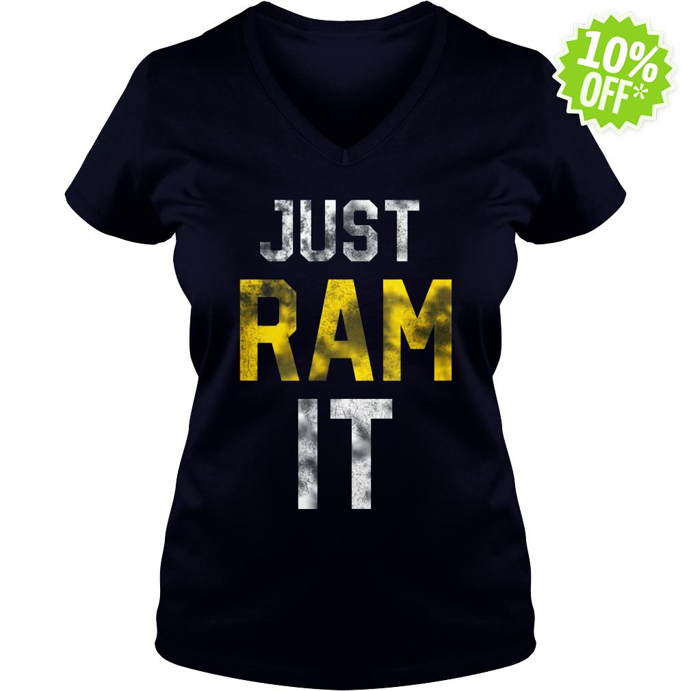 Just Ram It v-neck