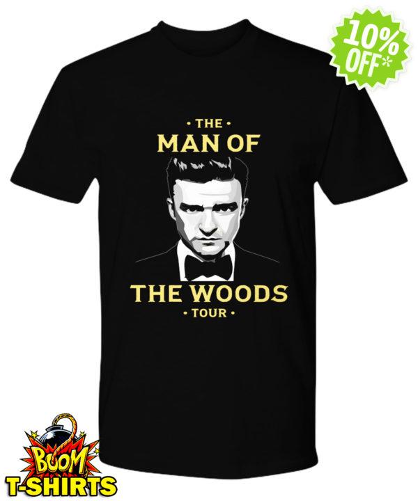 Justin Timberlake the man of the woods tour shirt