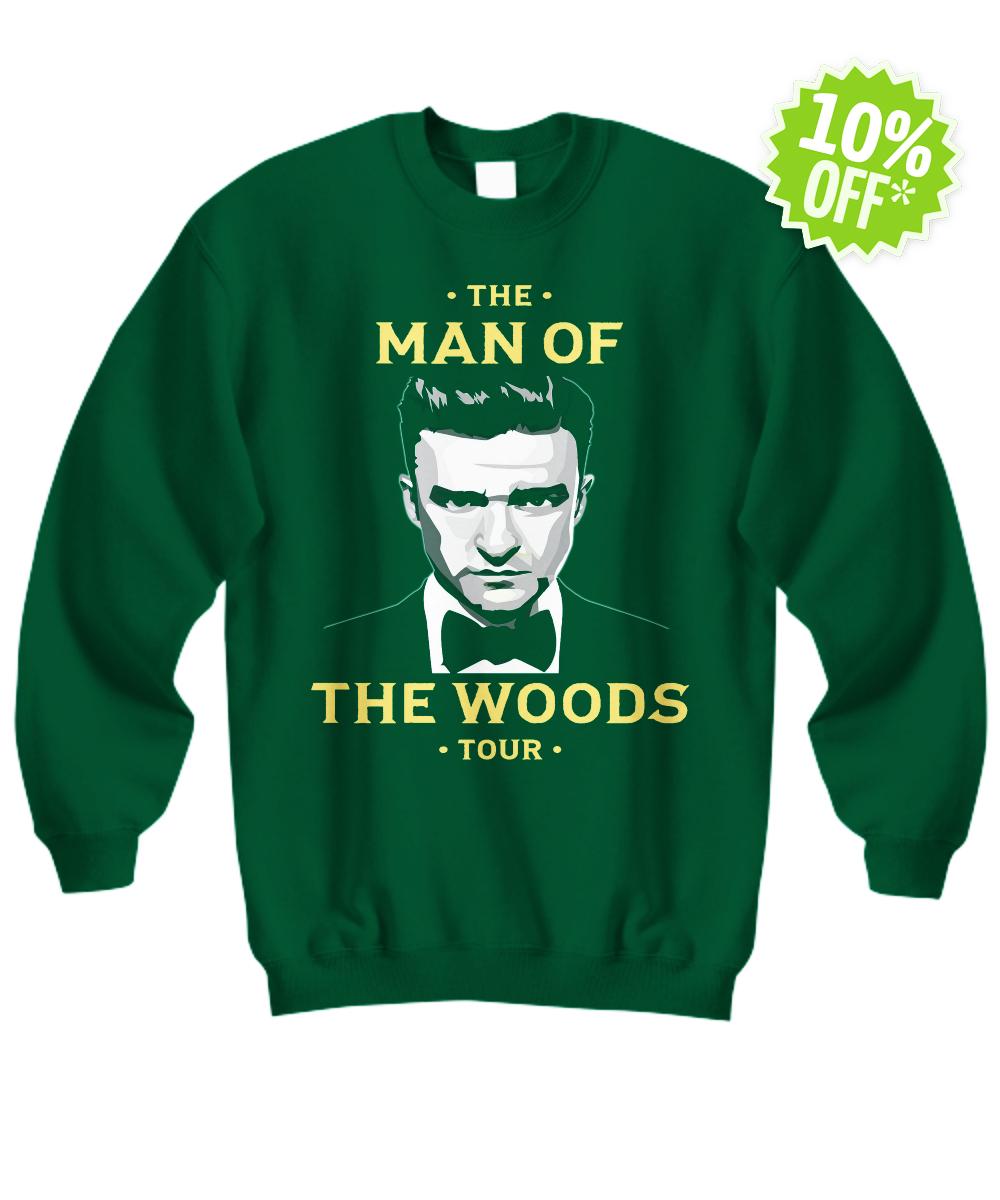 Justin Timberlake the man of the woods tour sweatshirt