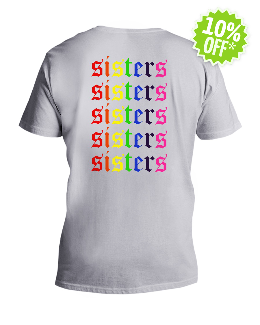 LGBT Sisters Sisters v-neck