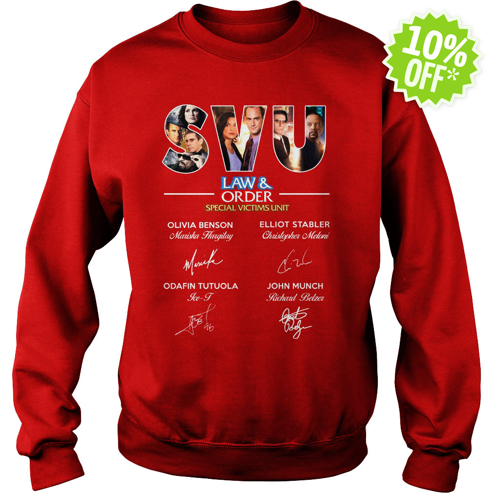 Law and order special victims unit signature sweatshirt