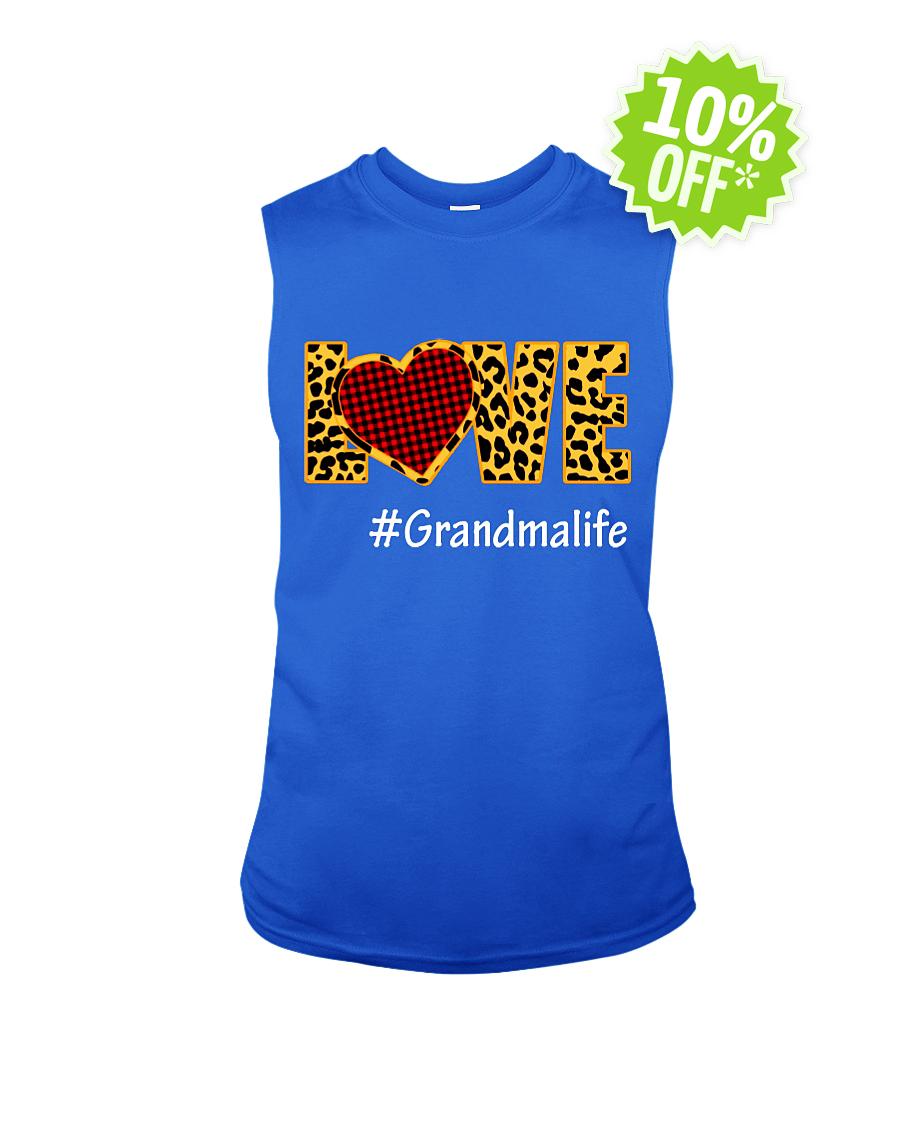 Love hashtag grandmalife v-neck