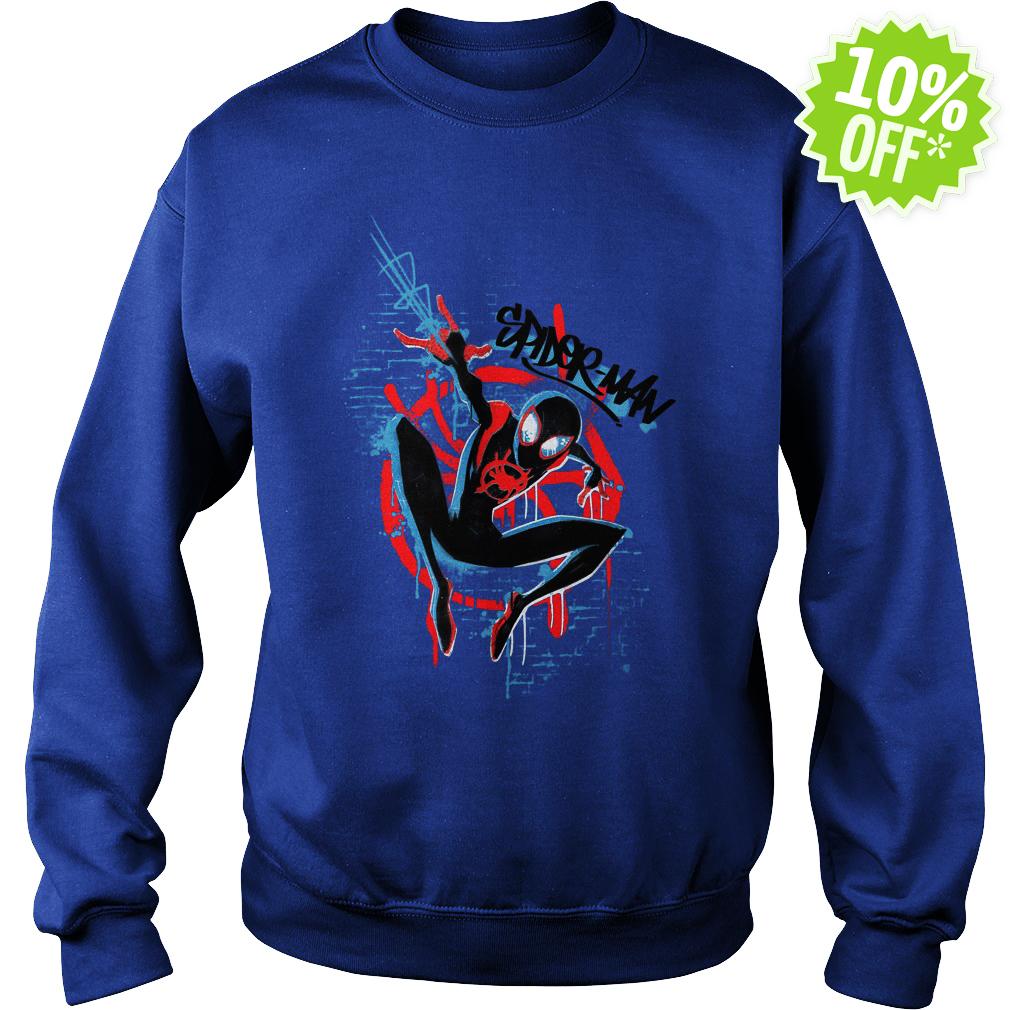 Marvel Spider-Man Spider-Verse Graffiti sweatshirt