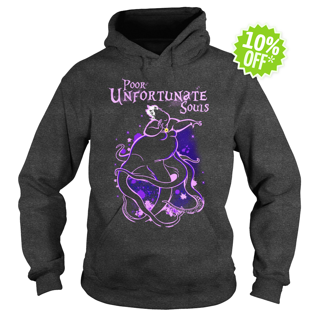 Poor Unfortunate Souls Ursula Disney hoodie