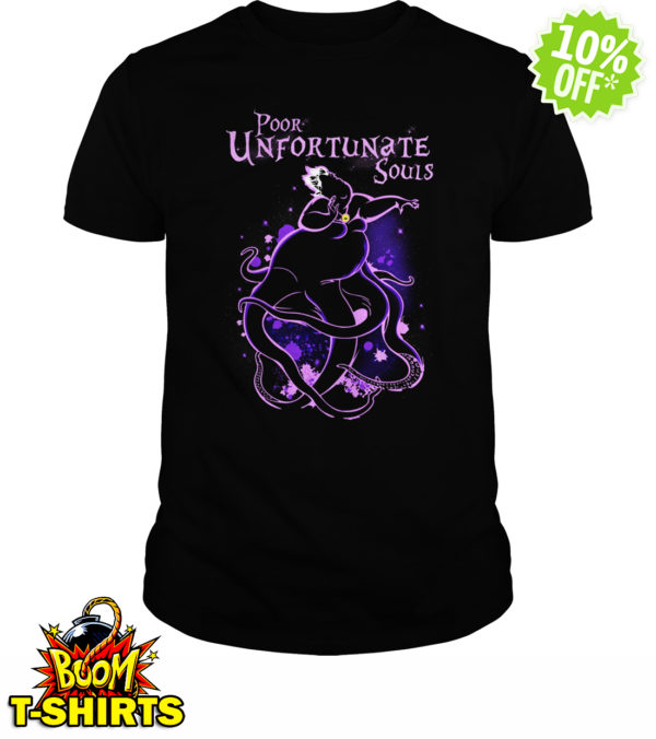 Poor Unfortunate Souls Ursula Disney shirt
