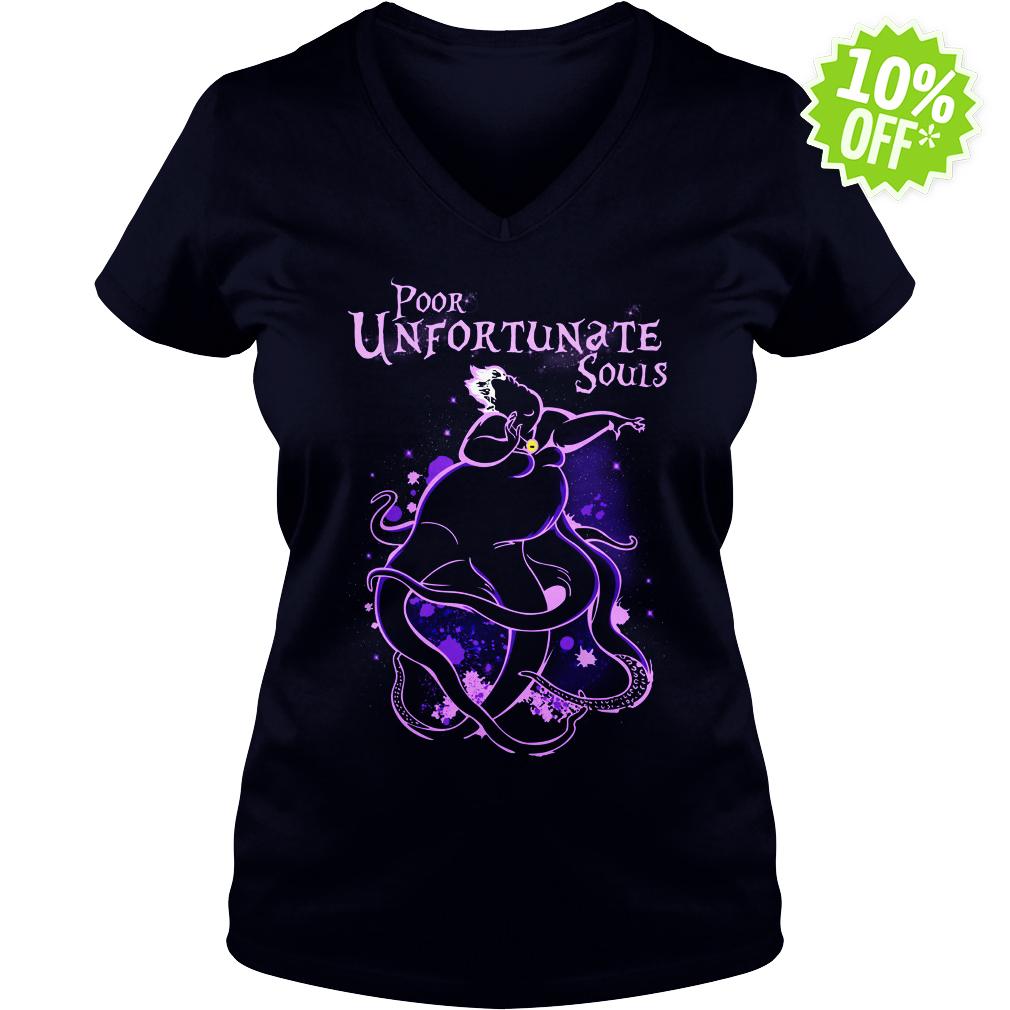 Poor Unfortunate Souls Ursula Disney v-neck