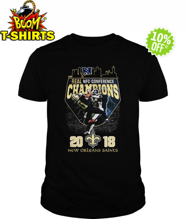 Real NFC conference champions 2018 Saints shirt