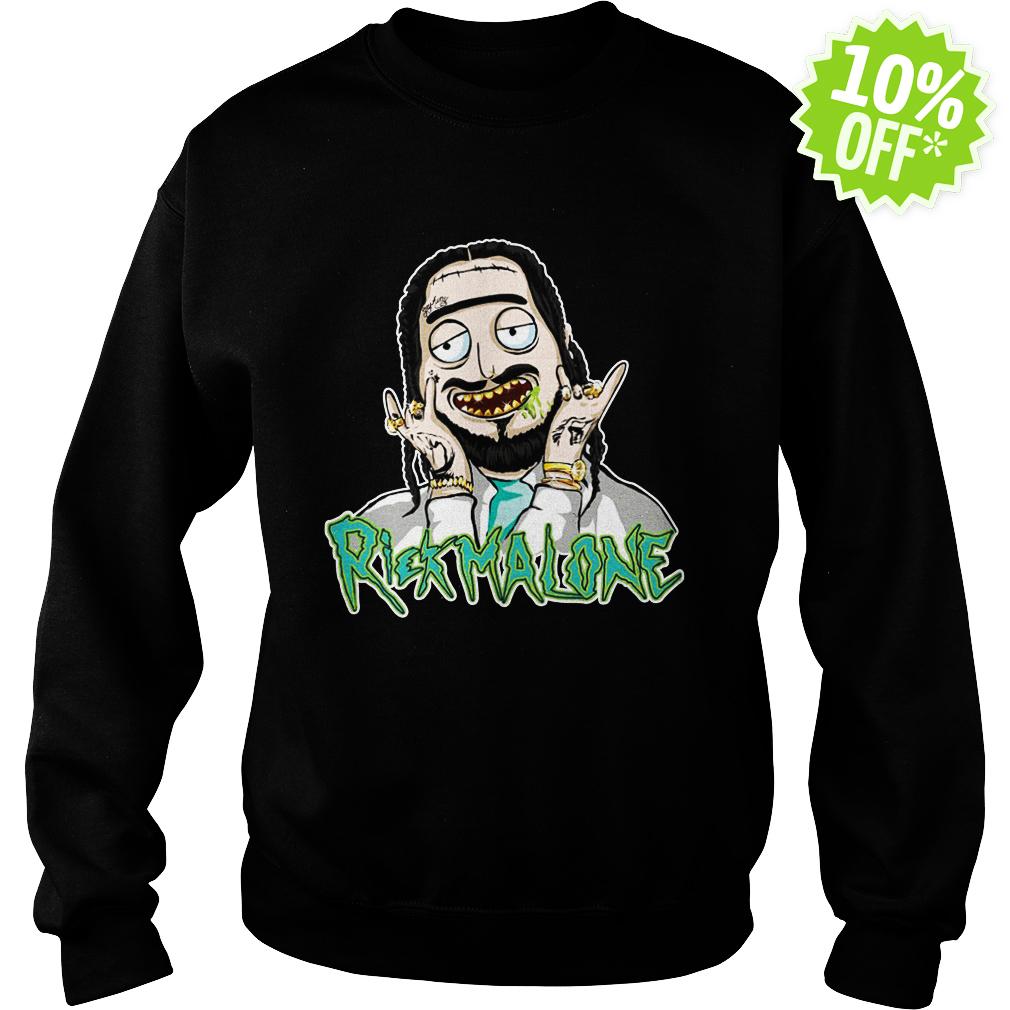 Rickmalone Rick Post Malone Mashup sweatshirt
