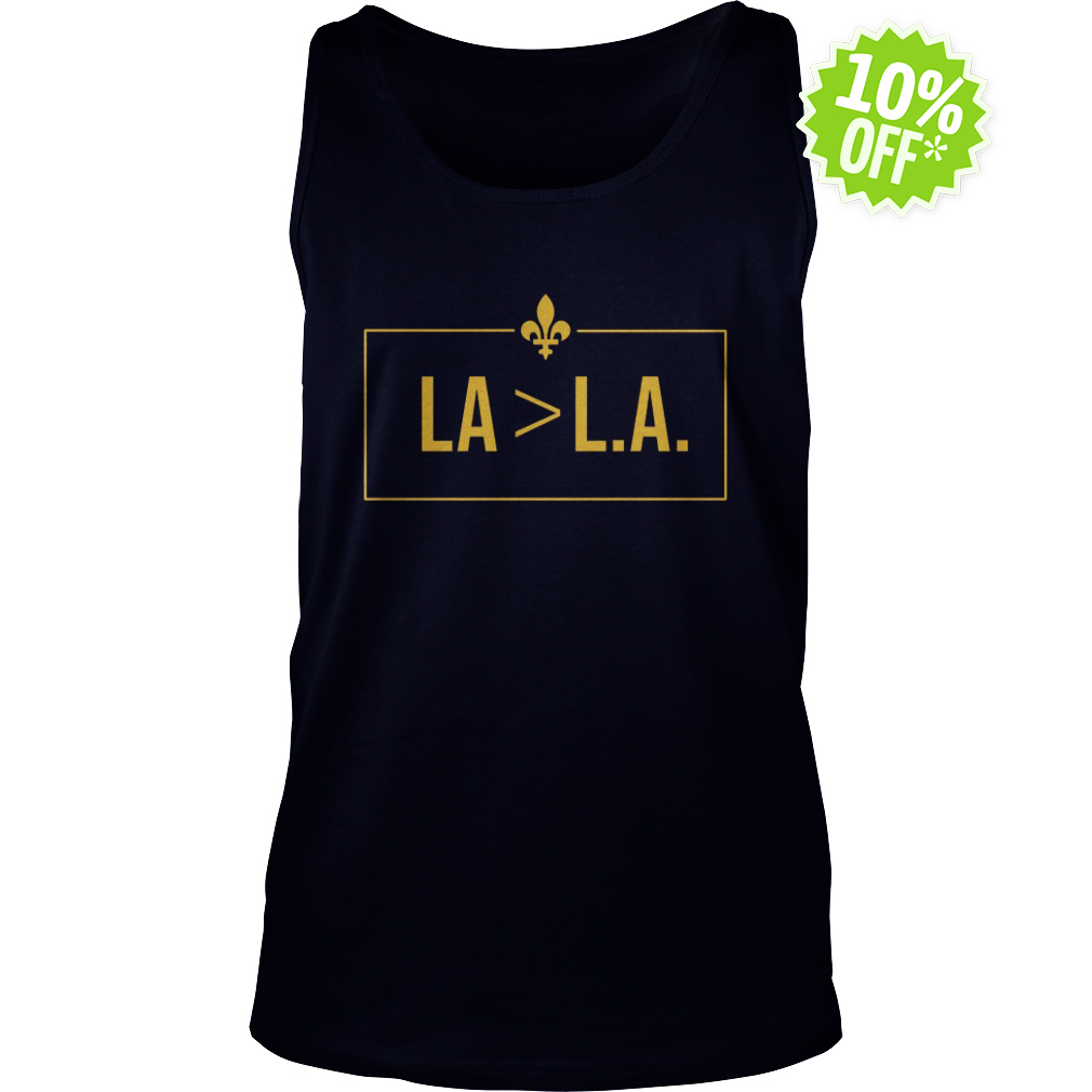 Saints LA Greater-than L.A tank top