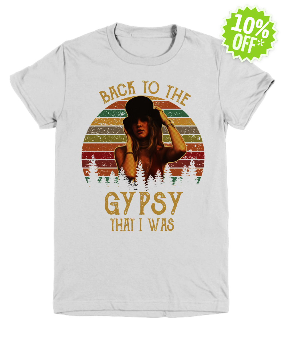 Stevie Nicks Back to The Gypsy That I Was youth tee