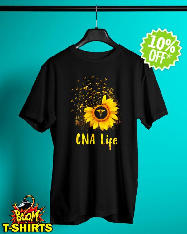 Sunflower CNA life shirt