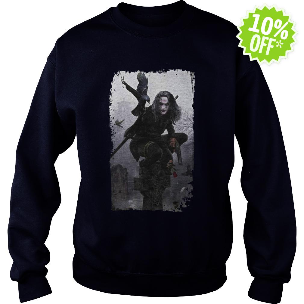 The Crow 90s Movies sweatshirt